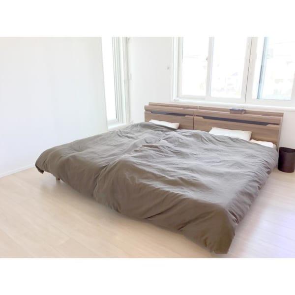 シンプルな寝室9