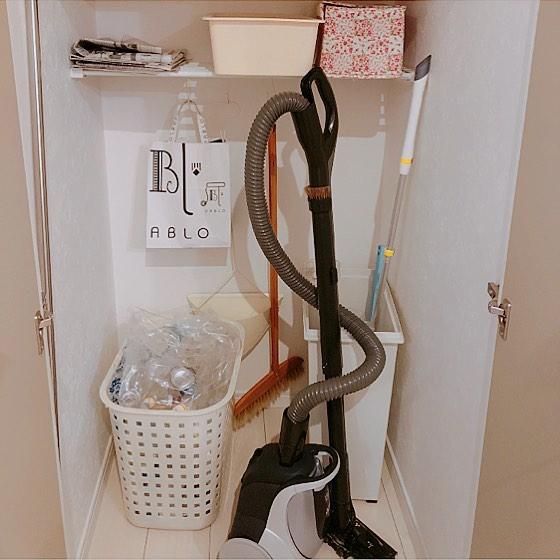 掃除道具を収納