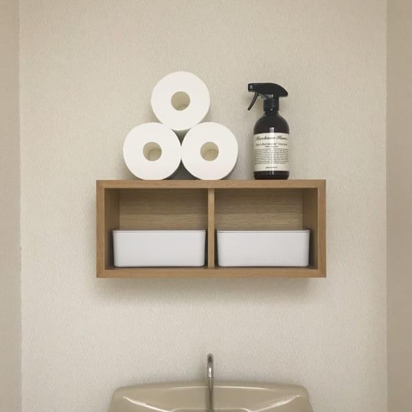 壁面収納なら無印良品アイテムで!2