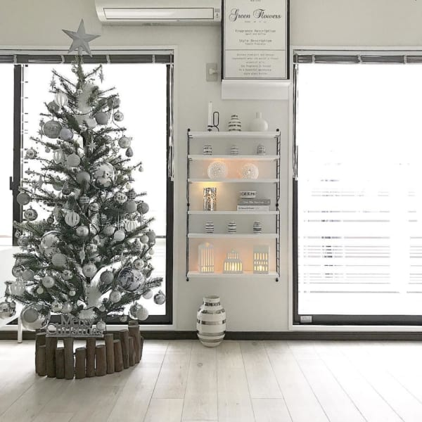 シンプルで落ち着きのあるクリスマスの飾り付けアイディア3