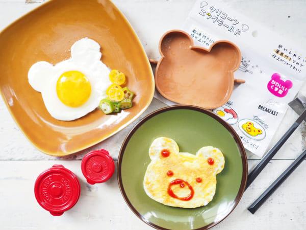 くま型で朝食