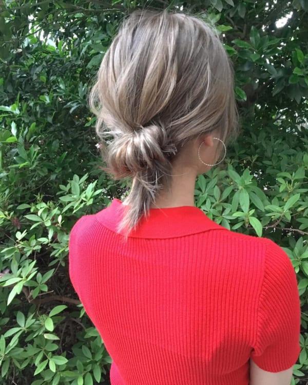 冬のまとめ髪アレンジ4