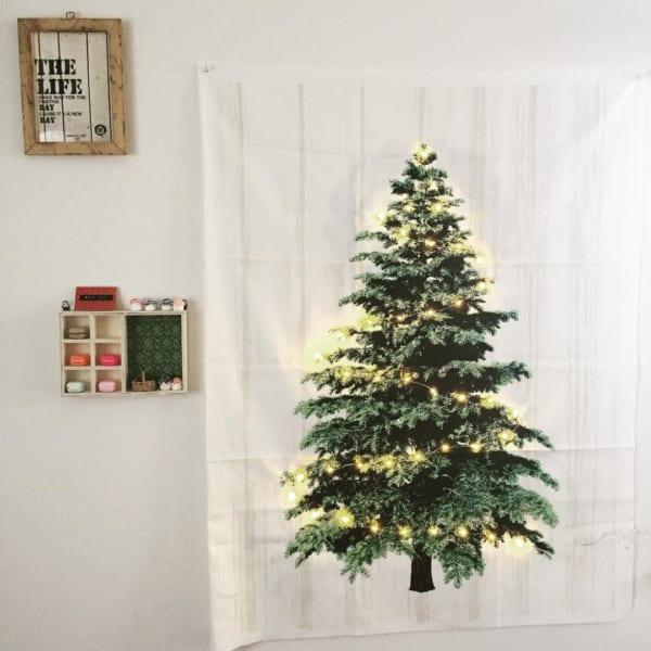 ツリータペストリーのあるクリスマス風景♡7