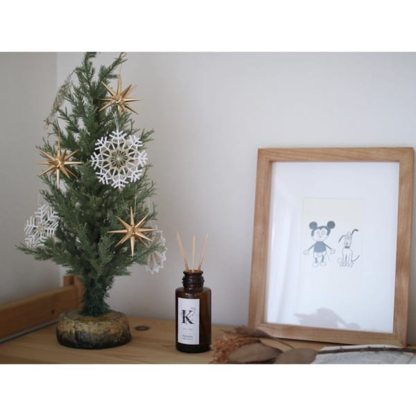 リアルな質感のクリスマスツリー