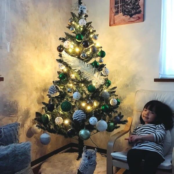 煌めくライティングでクリスマス気分UP
