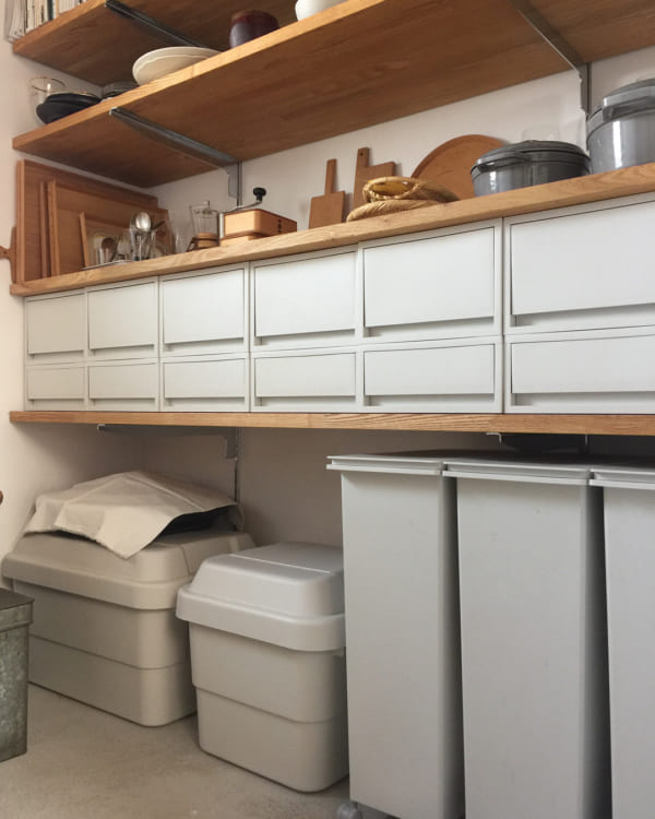 ゴミ箱収納スペース実例集54