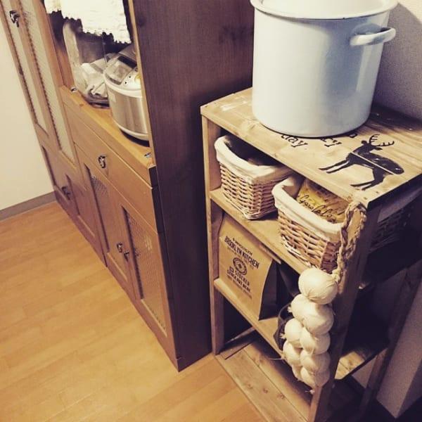 端材の収納棚4