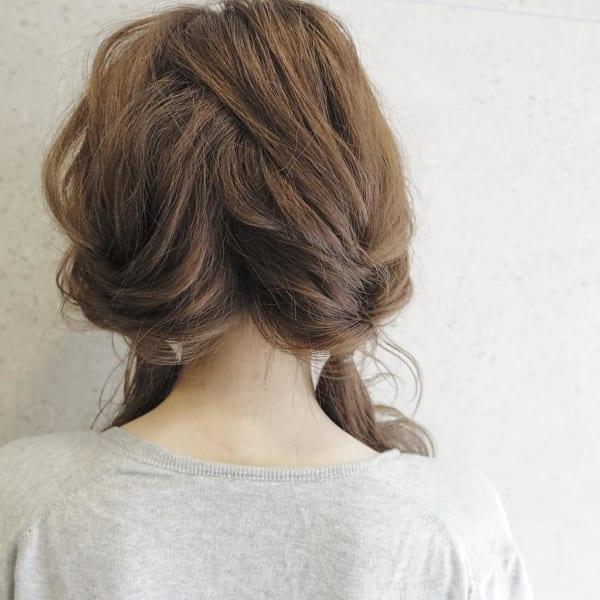 冬のファッションに合わせたい!ニット帽やベレー帽に合うヘアアレンジ♡5