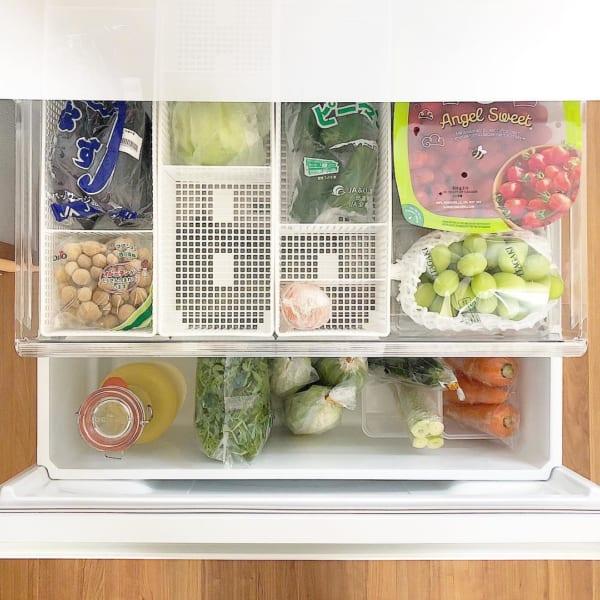 冷蔵庫内のインナーボックスや食品の保存用などに2