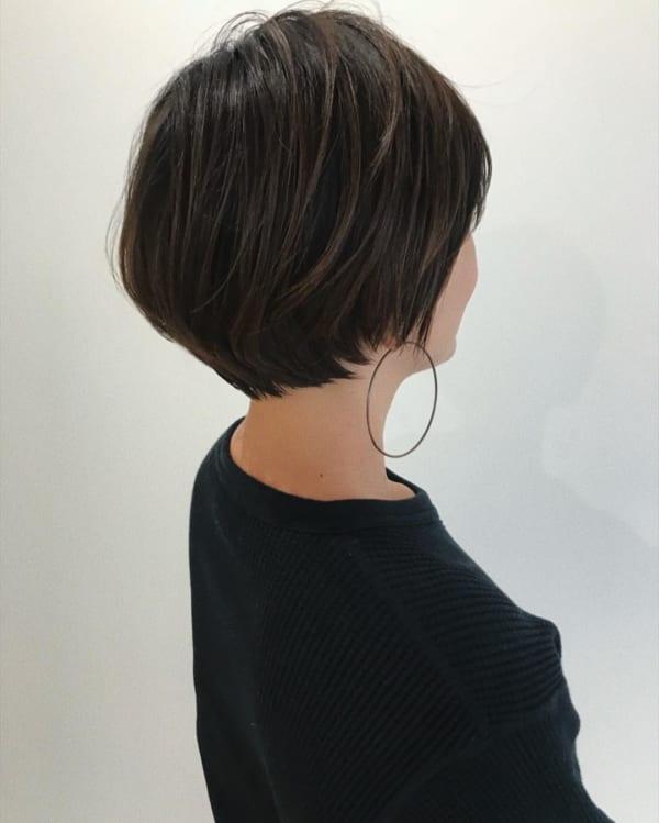 ショートボブのヘアアレンジ71