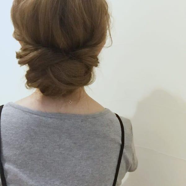 葬式 ロング お 髪型