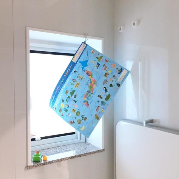 お風呂グッズは吊るす収納でスッキリ乾かして