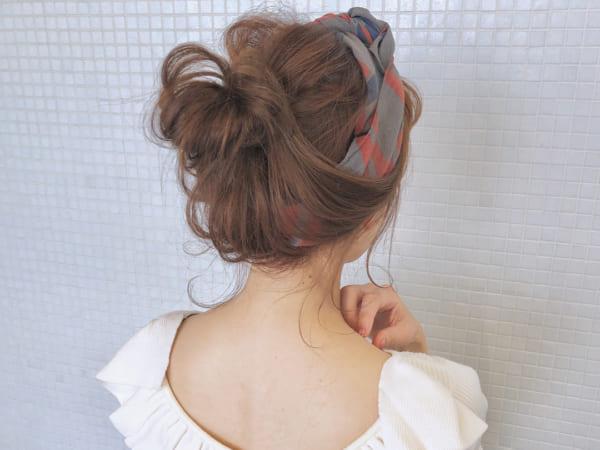 30代におすすめのまとめ髪3