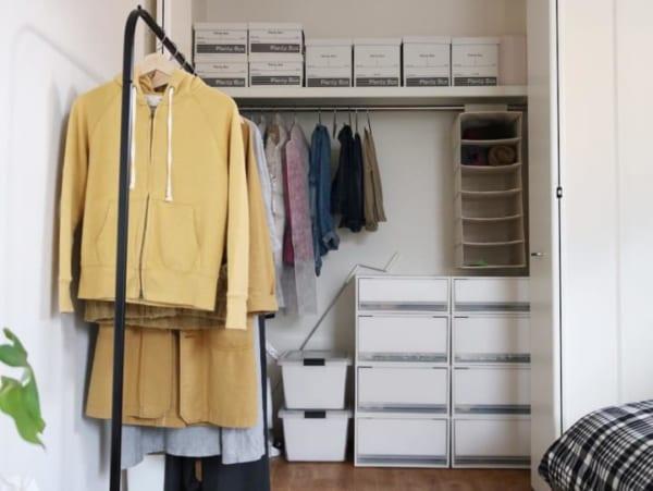 「衣類収納」に役立つアイテム&収納術!23
