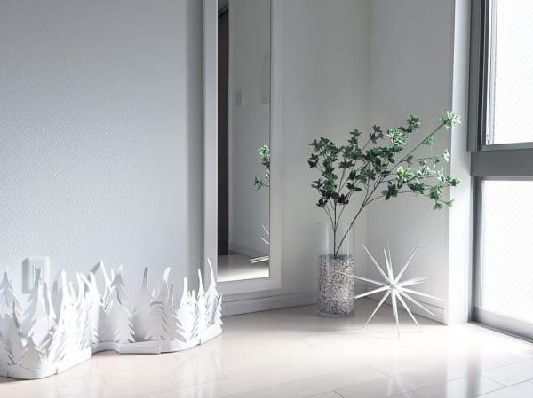 植物のナチュラル感が素敵なクリスマスディスプレイ7