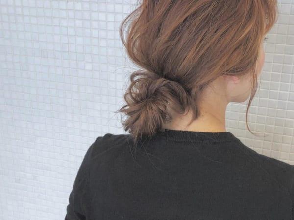 30代におすすめのまとめ髪4