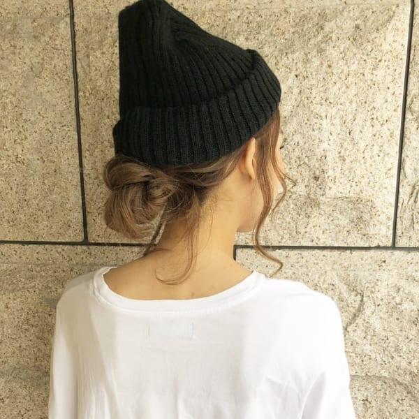 キャップなどの帽子のためのアレンジ6