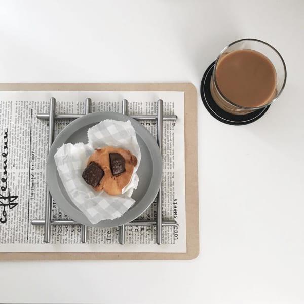 スチール製の鍋敷き、LÄMPLIG(レンプリグ)
