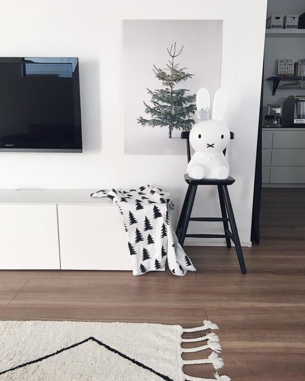 シンプルで落ち着きのあるクリスマスの飾り付けアイディア7