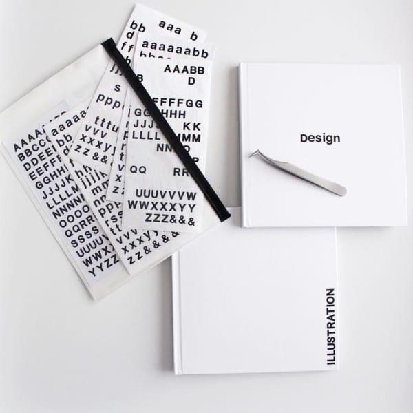 ダイソーの絵本が作れるノートをカスタマイズ