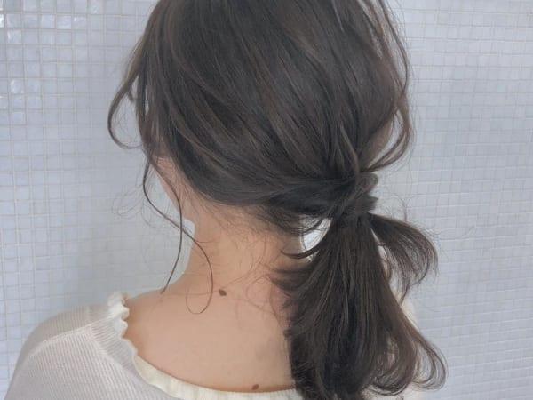 30代におすすめのまとめ髪6