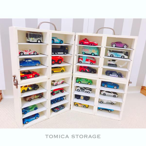 DIYで作るおもちゃ収納12