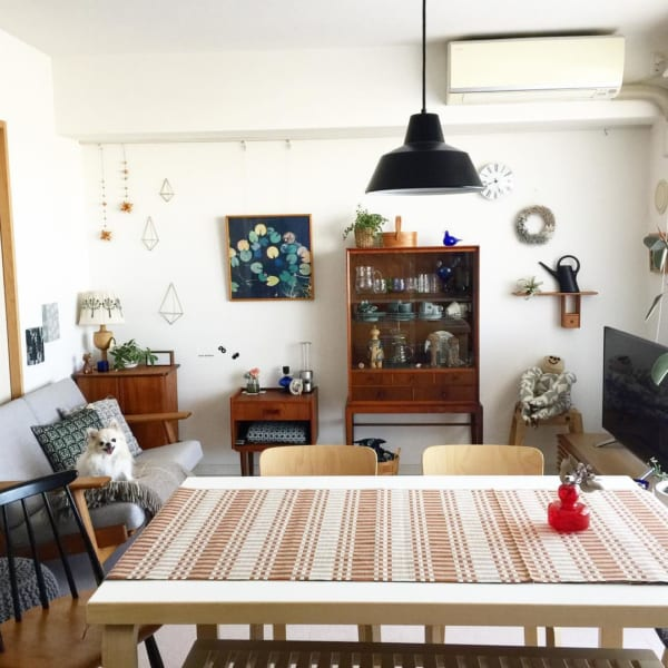 北欧インテリアで仕上げた、一人暮らしの優しい空間づくり2