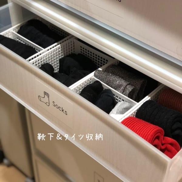 靴下のたたみ方&収納実例をご紹介42