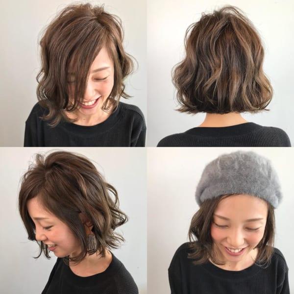 冬のファッションに合わせたい!ニット帽やベレー帽に合うヘアアレンジ♡10