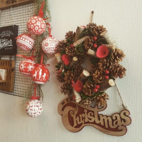 ニトリでクリスマス6