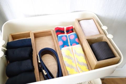 靴下のたたみ方&収納実例をご紹介18