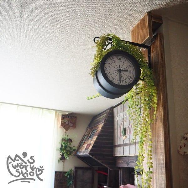 両面時計も作れる!