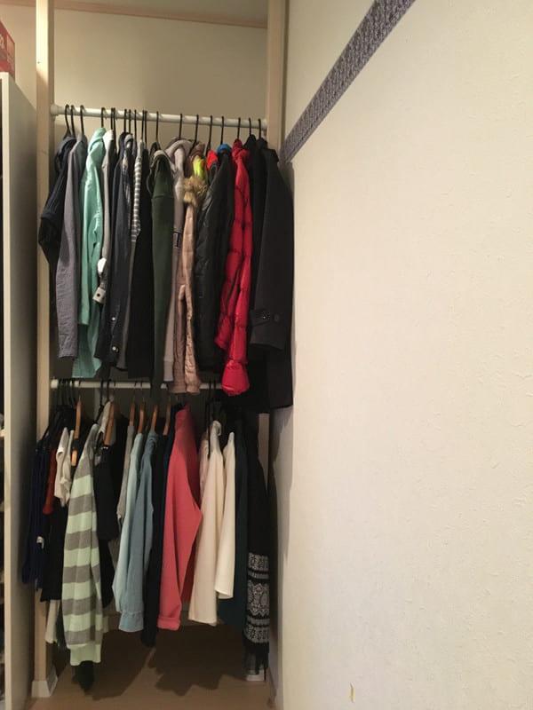 「衣類収納」に役立つアイテム&収納術!53