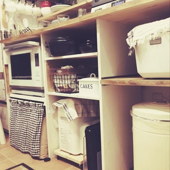 キッチンカウンターをDIY♪77