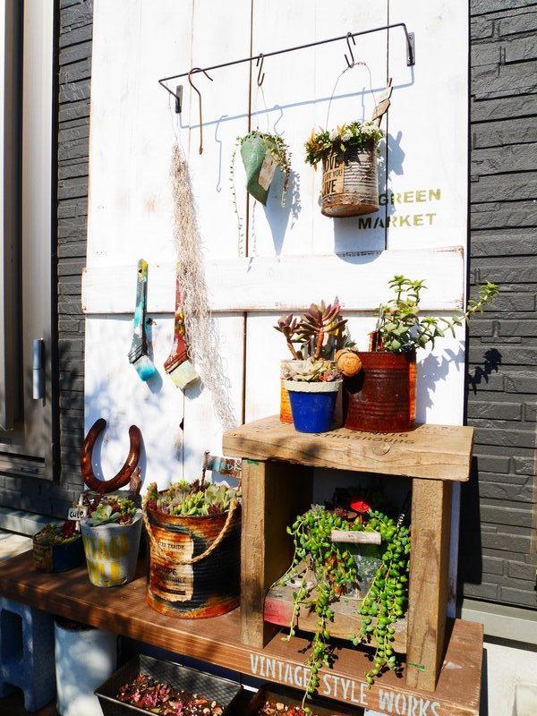 DIYで庭に目隠しを作ろう9