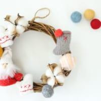 【連載】今年は手作りもアリ?「セリア」の材料だけで作る簡単クリスマスリース♡
