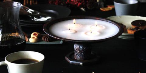 【連載】クリスマスにぴったり!セリア&ダイソーで「脚付きキャンドルプレート」を簡単DIY!