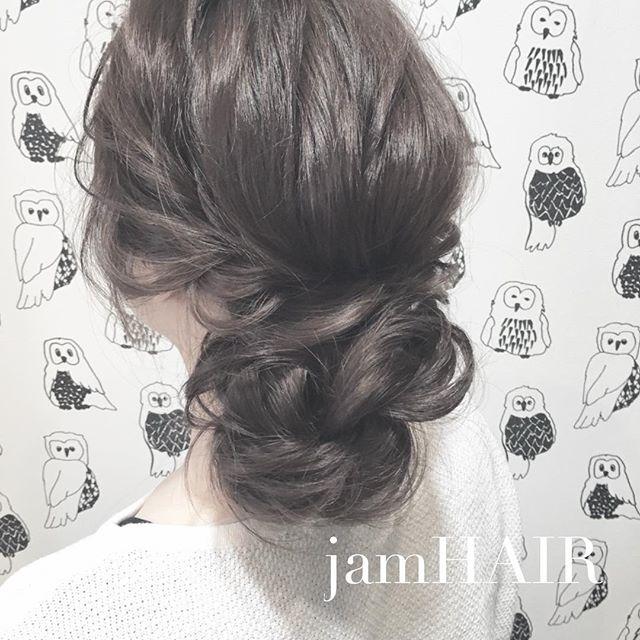まとめ髪スタイル5