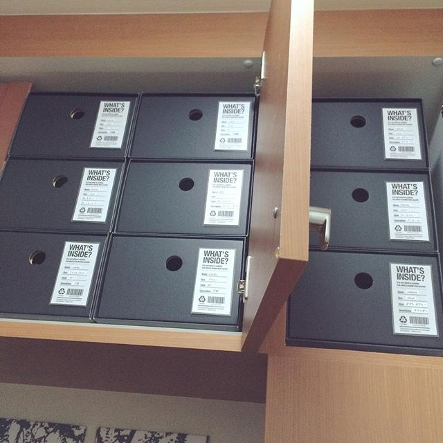 「箱のソムリエ」の靴箱