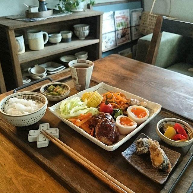 常備菜を活用したテーブルコーディネート