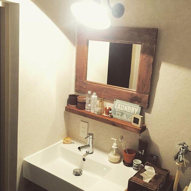ラック洗面所収納3
