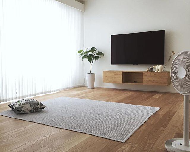テレビボード ナチュラルインテリアの設置実例19