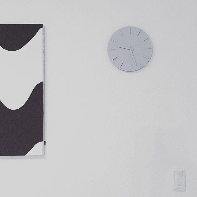 壁掛け時計 ±0(プラスマイナスゼロ)