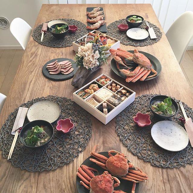 お正月のテーブルコーディネート