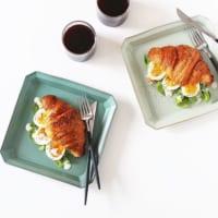 角皿を使って盛り付けをセンスアップ!和食から洋食まで使える万能アイテム♡
