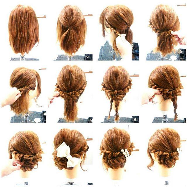 アップ&まとめ髪スタイル4