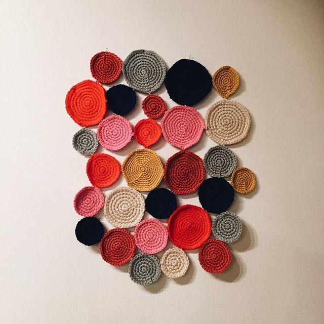 ニットの円編み2