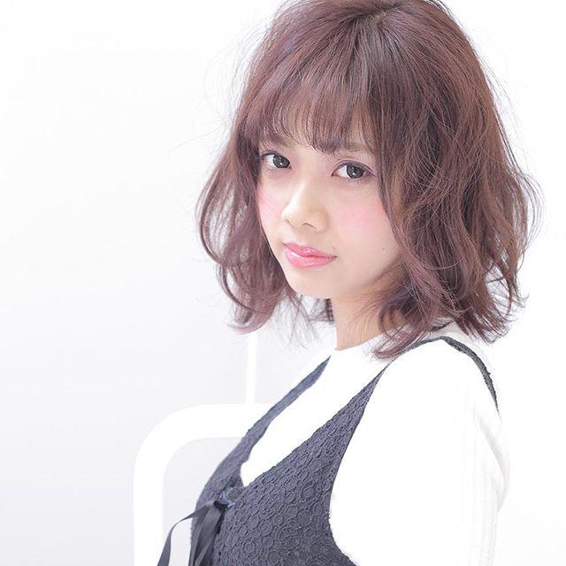 巻き髪スタイル12