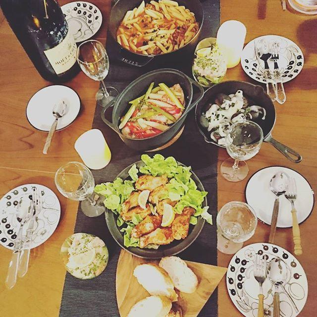 「ホームパーティー」のテーブルシーン&料理特集10