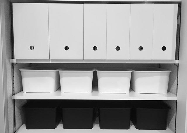 ファイルボックス 戸棚 整頓
